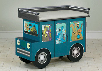 Pediatric Examination Table Outback Buggy with Aussie Animal Pals - Clinton Industries