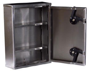 Narcotics Cabinet Secure Stainless - Harloff