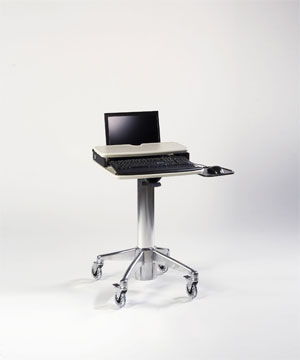 Traditional Style Laptop Cart