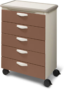 Mobile Treatment Cart 5 Drawers - Ritter